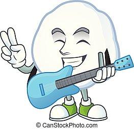 極度, 涼しい, 雪玉, パフォーマンス, 漫画, 特徴, ギター