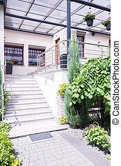 楼梯, 对于, 现代, 时尚, 住处