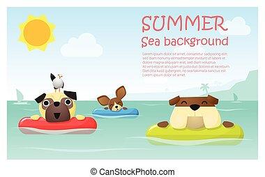 楽しみなさい, トロピカル, 夏季休暇, ∥で∥, わずかしか, 犬, 2