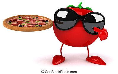 楽しみ, トマト