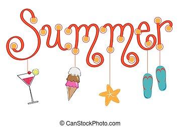 楽しみ, 夏