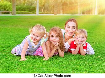 楽しみ, 持つこと, 家族, 幸せ