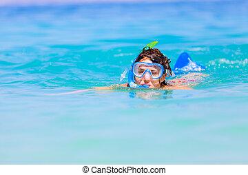 楽しみ, 水中