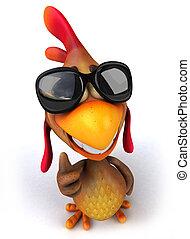 楽しみ, 鶏
