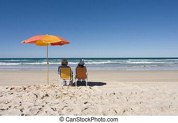 楽しむ, 浜