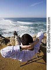 楽しむ, ∥, 海洋眺め