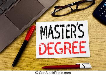 概念性, 手文字, 正文, 顯示, 掌握, s, degree., 生意概念, 為, 學院, 教育, 寫, 上, 紙, 木制, 背景, 在, 辦公室, 由于, 模仿空間, 記分員鋼筆, 以及, 眼鏡