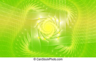 概念性, 环境, 背景, 遮掩, 在中, 绿色, 性质