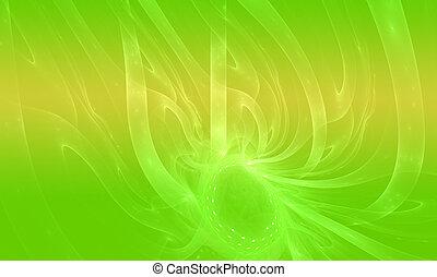 概念性, 環境, 背景, 陰影, ......的, 綠色, 自然