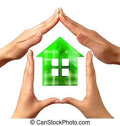 概念性, 符号, 家
