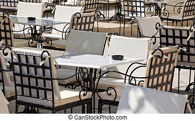 概念的な イメージ, サービス, レストラン