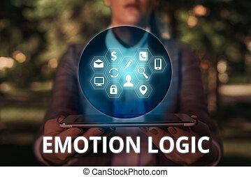 概念, ∥あるいは∥, 心, テキスト, 混乱, 知性, 印, 提示, 脳, 精神, 同輩, 写真, 感情, balance., logic.