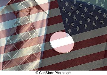 概念, の, アメリカ人, 選挙