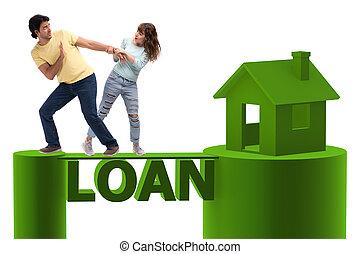 概念, の, 家族, 取得, 抵当 貸付け金, ∥ために∥, 家