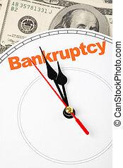 概念, の, 破産