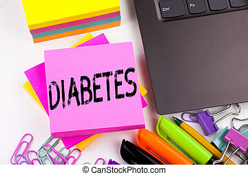 概念, インシュリン, ビジネスオフィス, スペース, マーカー, テキスト, 提示, 病気, コピー, 執筆, 環境, ワークショップ, 作られた, 背景, pen., そのような物, 白, ラップトップ, 医学, 糖尿病