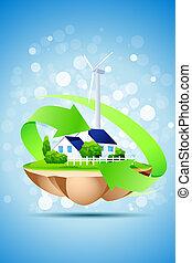 概念, エコロジー, 背景