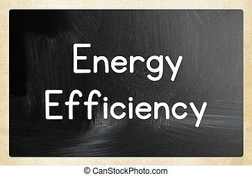 概念, エネルギー, 効率