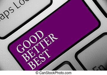 概念, オフィス, テキスト, コンピュータキーボード, メッセージ, 品質, よりよい, 改善, 増加, device., 入力, タイプ, よい, 衝突, 意味, キー, 達成, best., ボタン, 仕事, 素晴らしさ, 手書き