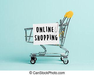 概念, オンラインで買い物をする
