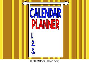 概念, カレンダー, 執筆, テキスト, ∥あるいは∥, chromatic., planner., 交差する, ...