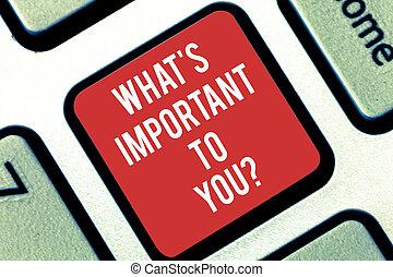 概念, キーパッド, テキスト, アイロンかけ, 私達, キーボード, メッセージ, あなたの, 何か, 作成しなさい, 執筆, intention, 言いなさい, 意味, 重要, ゴール, キー, priorities, idea., s, コンピュータ, 手書き, 目的, youquestion.