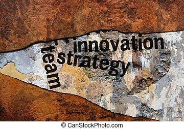 概念, グランジ, 革新, 作戦
