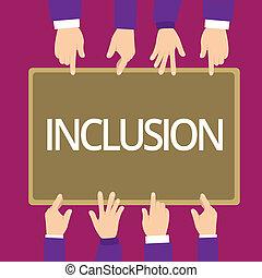 概念, グループ, ある, テキスト, 中で, 意味, inclusion., 執筆, 行動, 州, 含む, included, 手書き, ∥あるいは∥, 構造