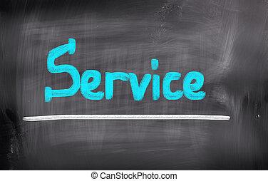 概念, サービス