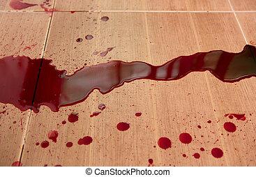 概念, スプラッター, :, ハロウィーン, 血
