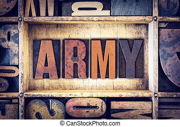 概念, タイプ, 凸版印刷, 軍隊