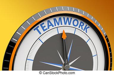 概念, チームワーク