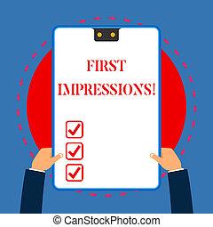 概念, テキスト, フレーム, impressions., 青, 手掛かり, 2, 執筆, クリップボード, 白, 持つ, 長方形, ∥に向かって∥, 意味, デモをする, 考慮, 判断, hands., 穴, 手書き, ∥あるいは∥, 最初に