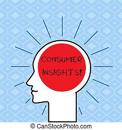 概念, テキスト, 頭, 人間, ブランク, 光線, 基づかせている, 囲まれた, 執筆, ∥(彼・それ)ら∥, 顧客, space., 理解, 意味, シルエット, 購入, insights., アウトライン, ライト, 行動, 手書き, 消費者