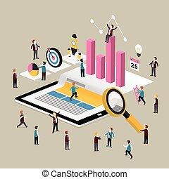 概念, データ, 分析