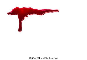 概念, :, ハロウィーン, 血, したたり