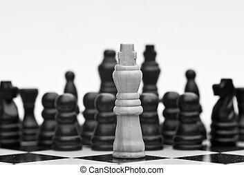 概念, ビジネス戦略, 適用, ゲーム, チェス