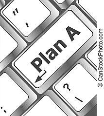 概念, ビジネス, キーボード, -, コンピュータ, 計画, キー, インターネット