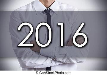 概念, ビジネス, テキスト, -, 若い, ビジネスマン, 2016