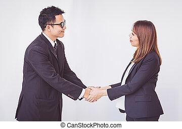 概念, ビジネス 人々, チームワーク, 座標, hands.