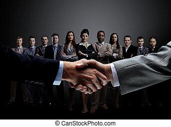 概念, ビジネス, 信頼性が高い, 協力, チーム, 専門家