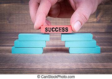 概念, ビジネス, 成功