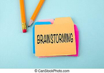 概念, ブレーンストーミング, ビジネス