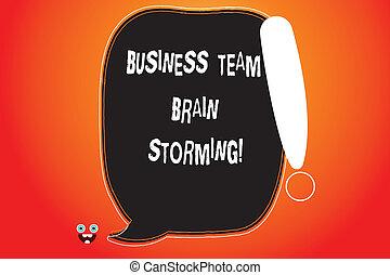 概念, ポイント, 色, テキスト, 脳, ブランク, 叫び, グループ, 仕事, 執筆, storming., スピーチ, ミーティング, モンスター, ビジネス, 概説された, 意味, 手書き, 泡, 仕事, 顔, チーム, icon., 企業である