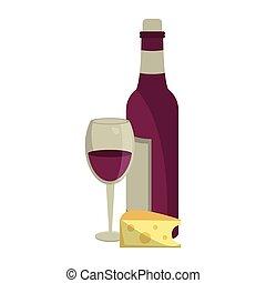 概念, ワイン, 美食