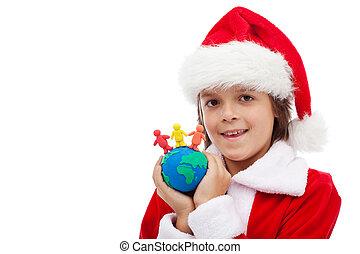 概念, 一緒にクリスマス