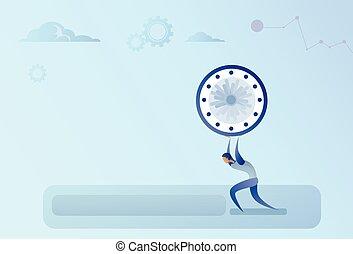 概念, 事務, 鐘, 管理, 最終期限, 藏品, 時間, 人
