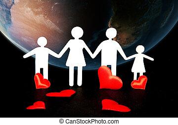 概念, 人々, 愛, 環境, 健康, 慈善