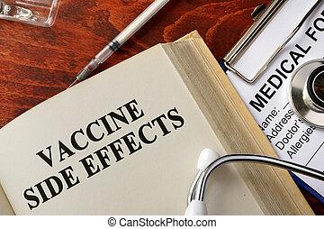 概念, 側, ワクチン, 効果