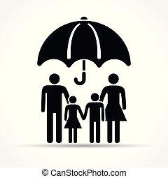 概念, 傘, 家族, 保護